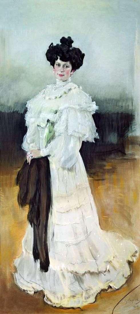 Portret E. A. Krasilshchikova   Valentin Serov