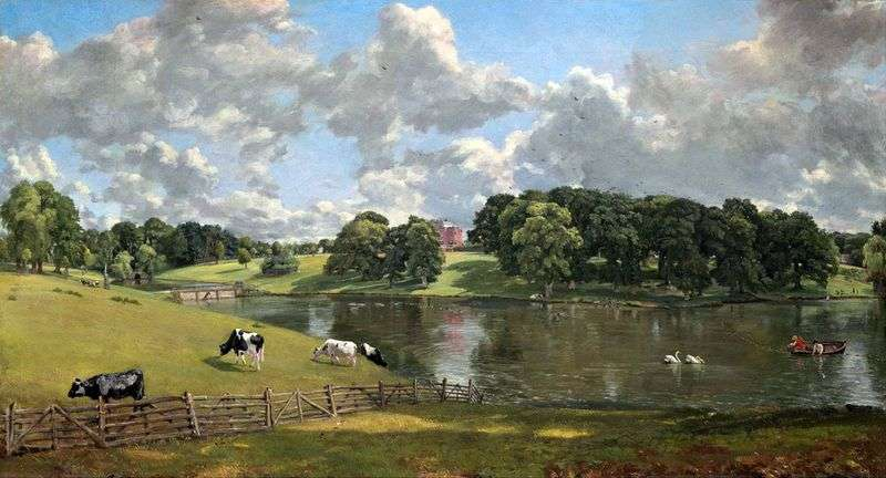 Wyvenhow Park   John Constable