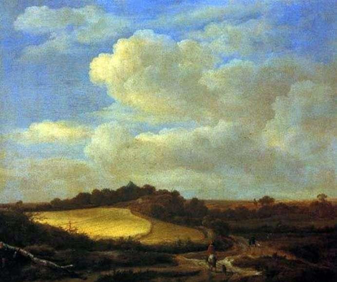 Krajobraz   Jacob van Ruysdael