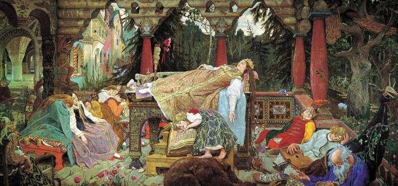 Opowieść śpiącej księżniczki   Wiktor Vasnetsov