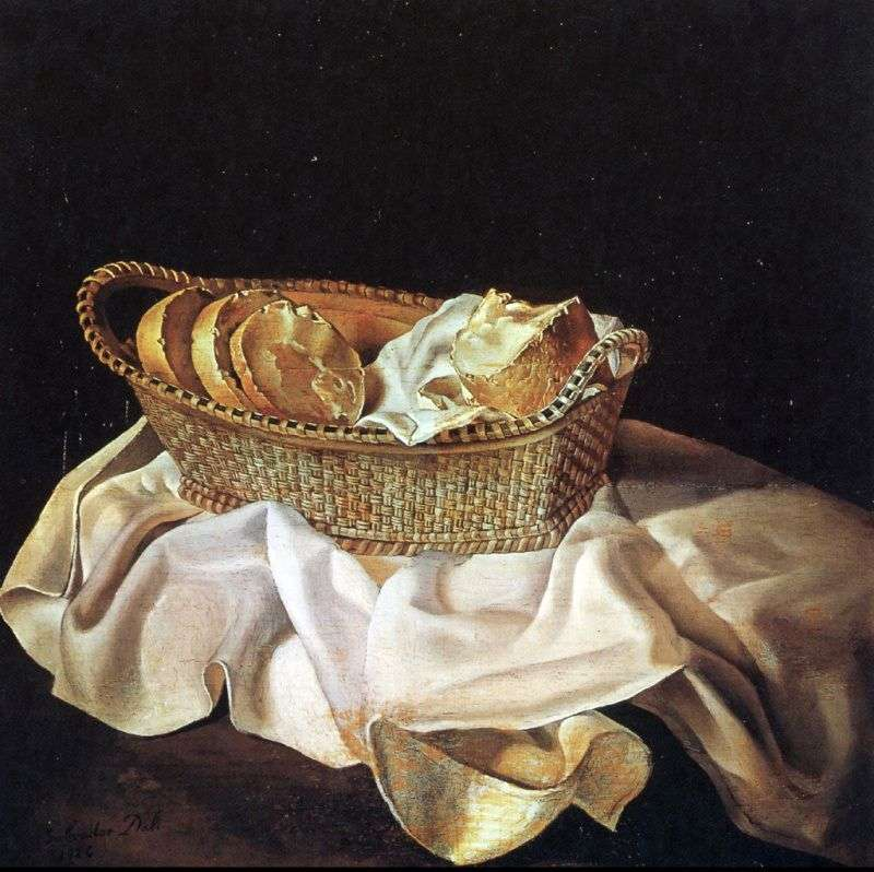 Koszyk na chleb   Salvador Dali