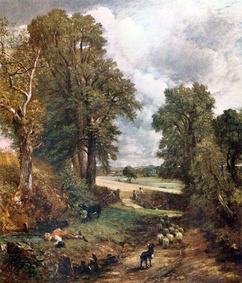 Grain Field   John Constable