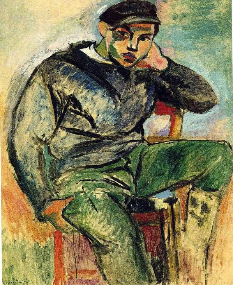 Młody żeglarz   Henri Matisse