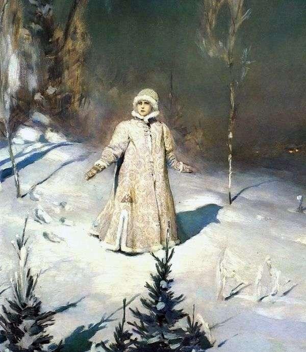 Snow Maiden   Victor Vasnetsov