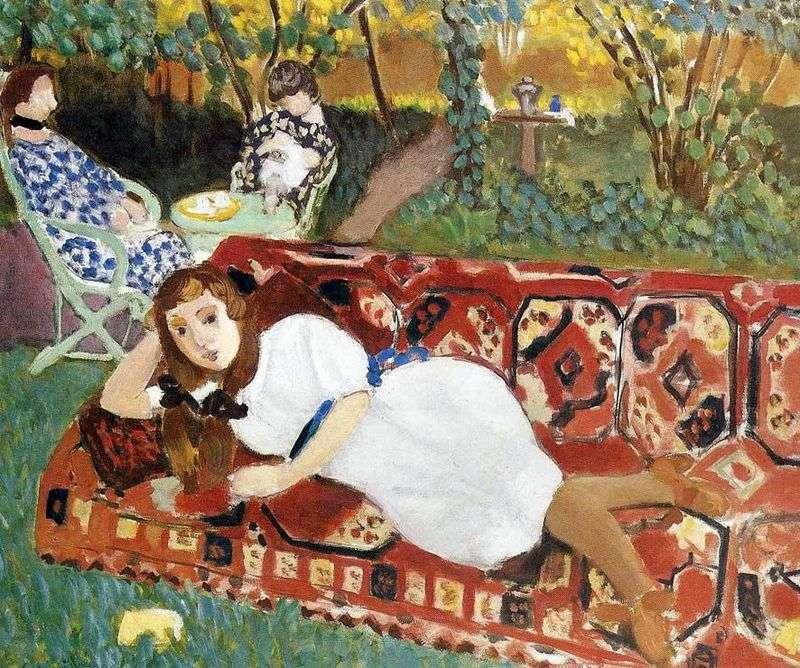 Młode kobiety w ogrodzie   Henri Matisse