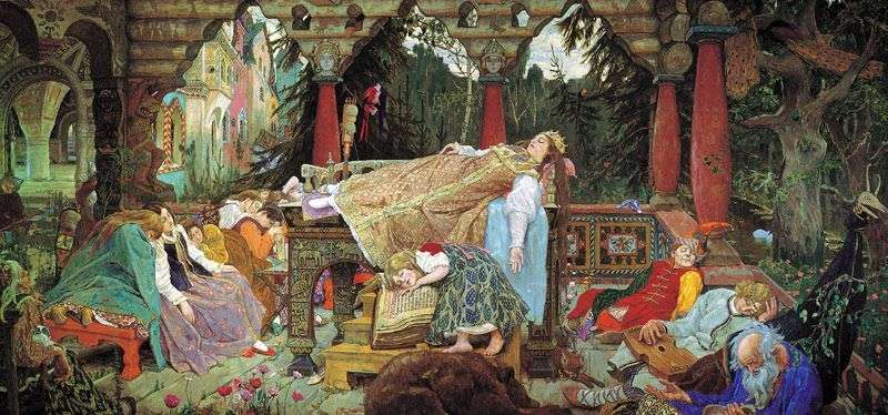 Śpiąca księżniczka   Viktor Vasnetsov