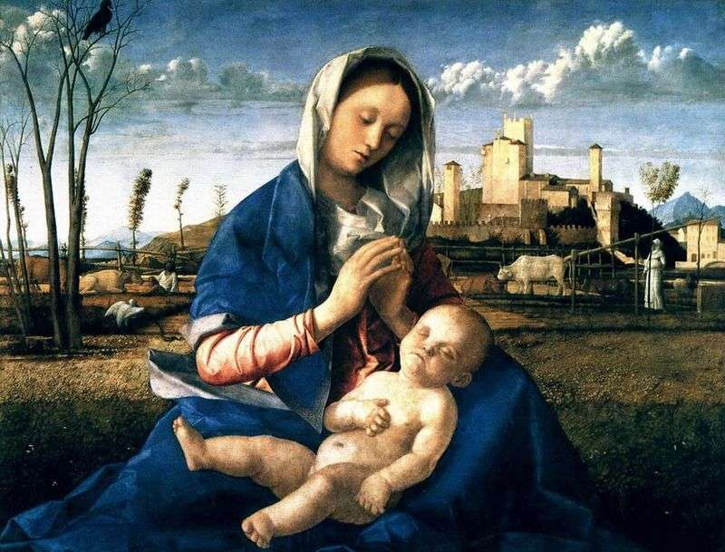 Madonna Meadow   Giovanni (Gambellino) Bellini