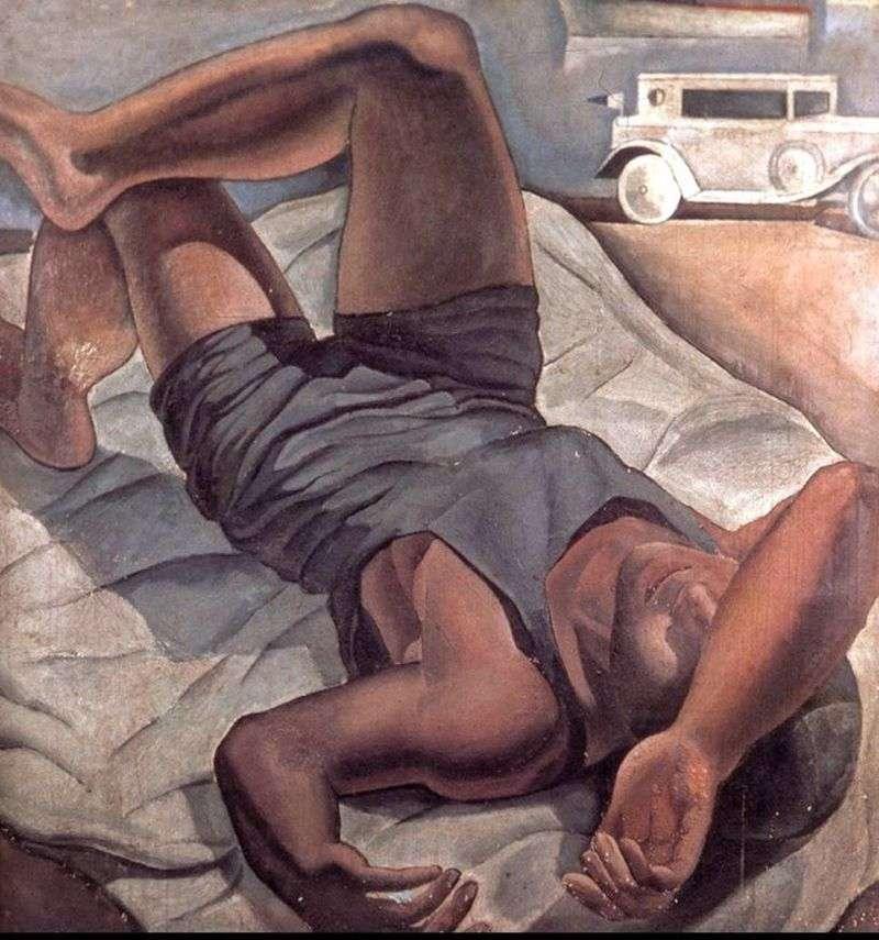 Kąpiący się   Salvador Dali