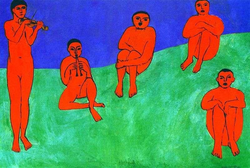 Muzyka   Henri Matisse