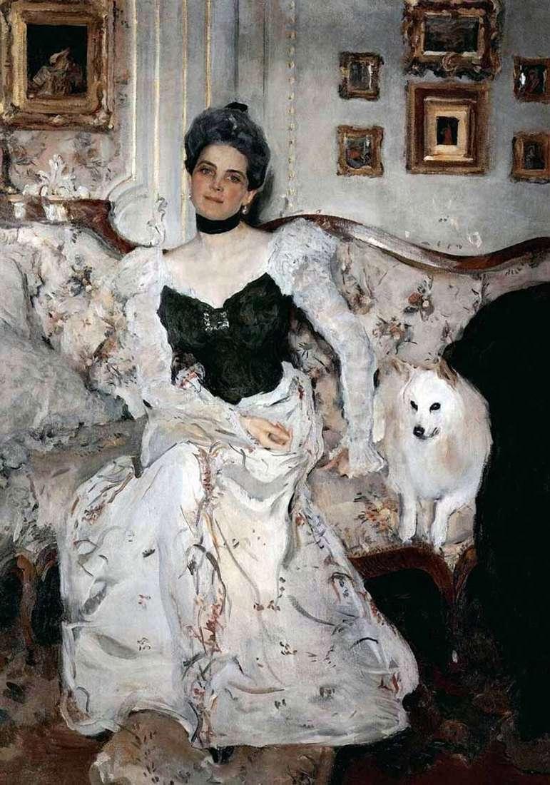 Portret księżniczki Z. N. Yusupova   Valentin Serov
