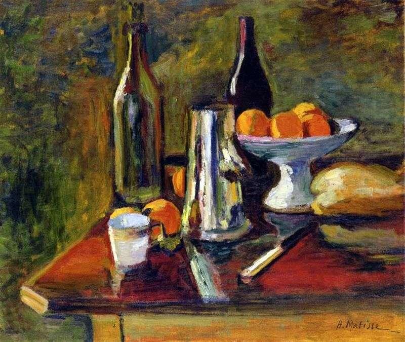 Martwa natura z pomarańczami   Henri Matisse
