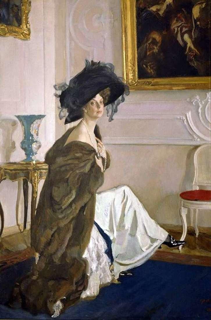 Portret księżnej O. K. Orlova   Valentin Serov