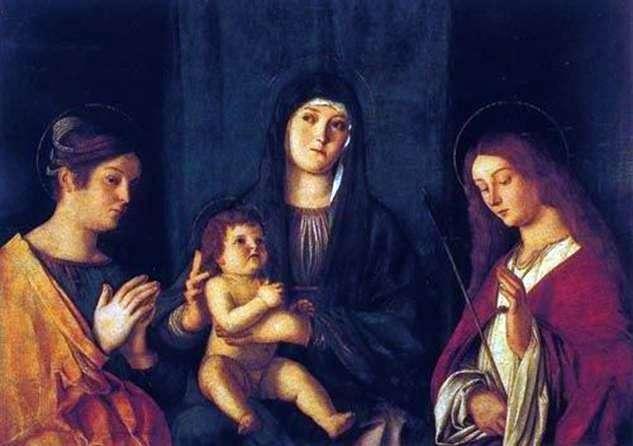 Madonna z Dzieciątkiem, Św. Katarzyny i św. Urszuli   Giovanni Bellini