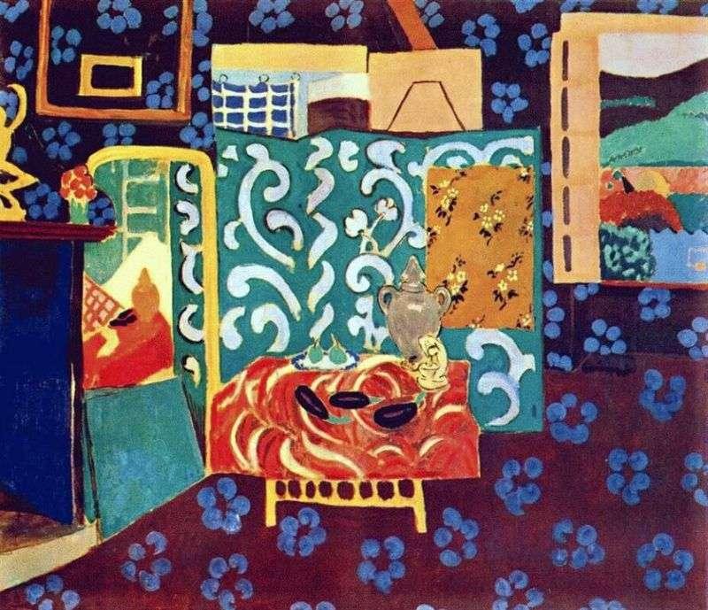 Martwa natura z bakłażanami   Henri Matisse