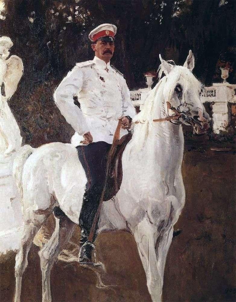 Portret księcia F. F. Jusupowa   Valentina Serowa