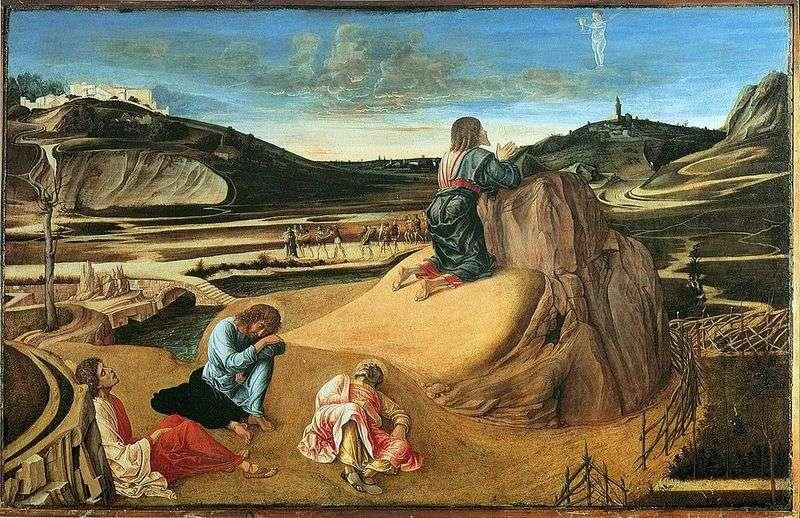 Modlitwa za misę lub Agonia w ogrodzie   Giovanni Bellini