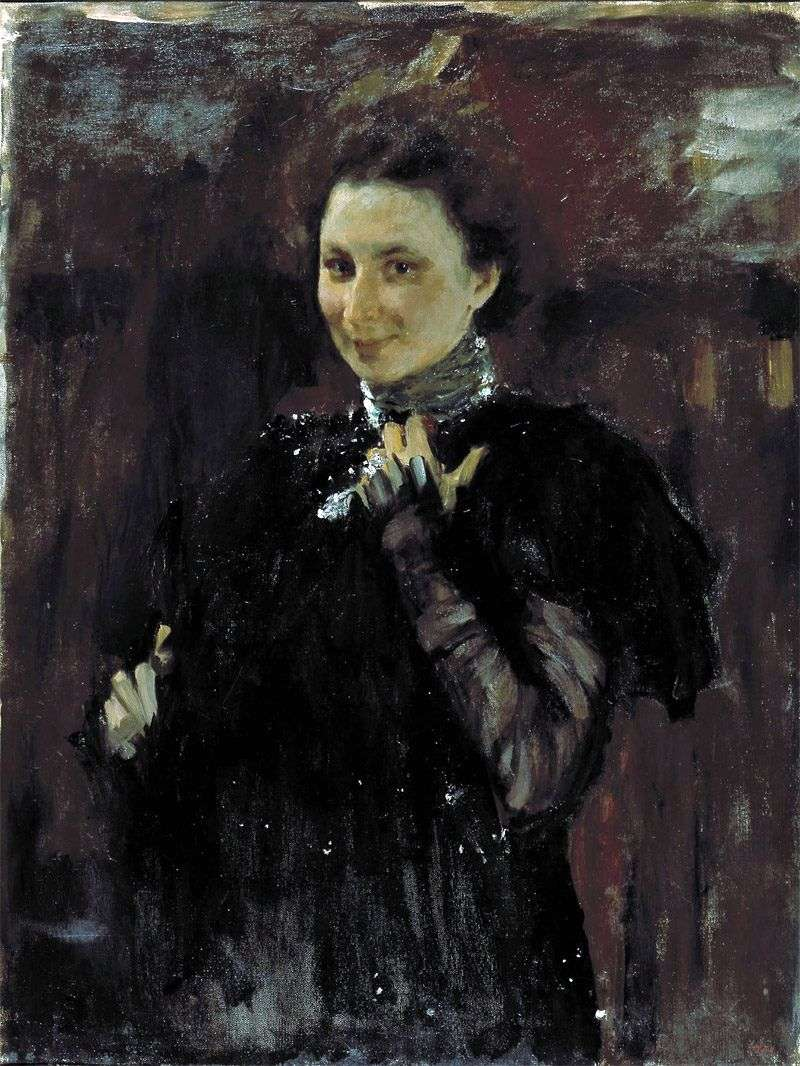 Portret M. K. Olive   Valentin Serov