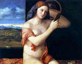 Młoda kobieta za toaletą   Giovanni Bellini