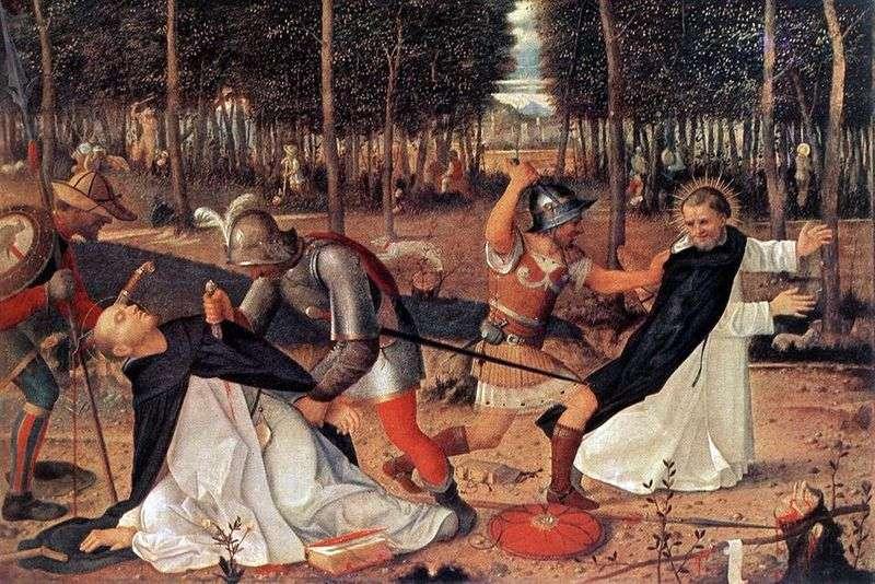 Męczeństwo Świętego Piotra   Giovanni Bellini