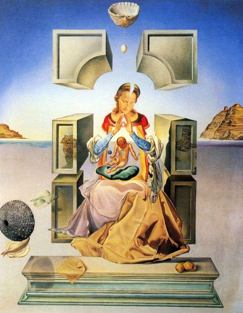 Madonna z Port Ligata   Salvador Dali