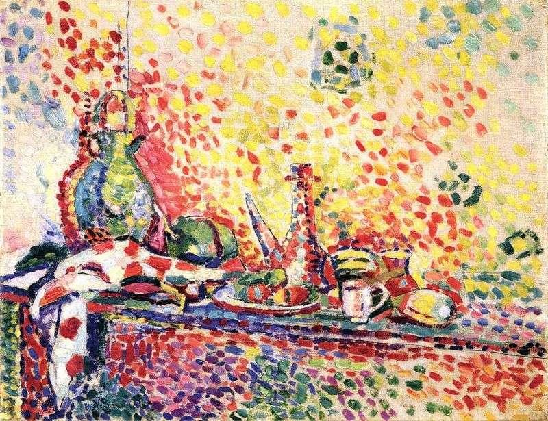 Martwa natura z zastawą   Henri Matisse