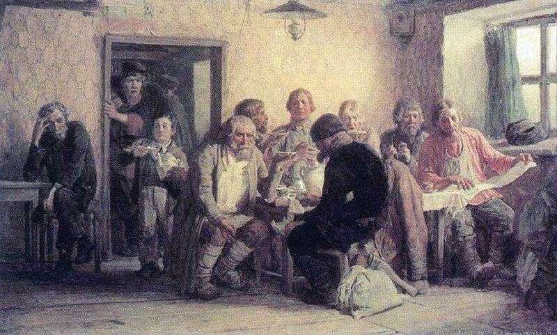 Herbata w tawernie   Viktor Vasnetsov