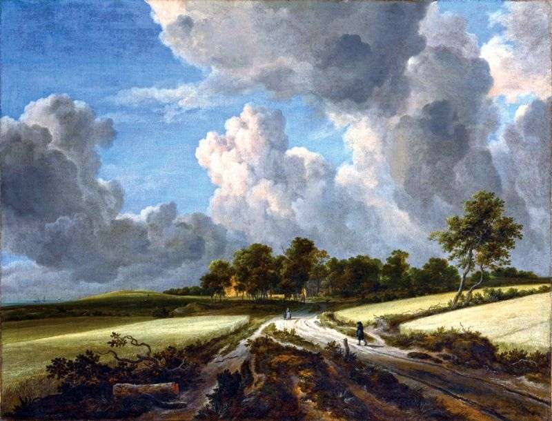 Grain Field   Jacob van Ruisdal