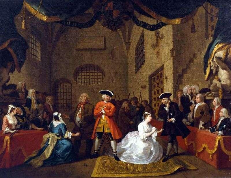 Opera Beggarsa   William Hogarth