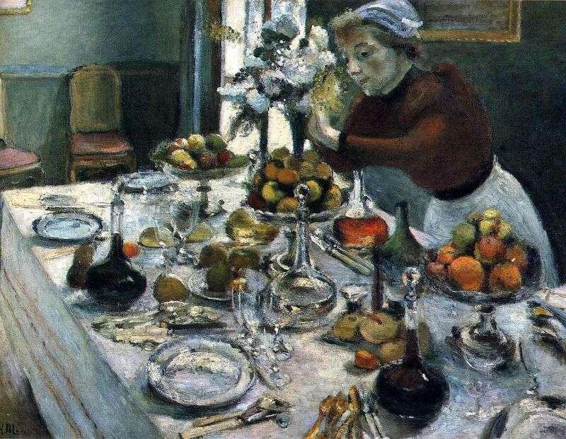 Stół do jadalni   Henri Matisse