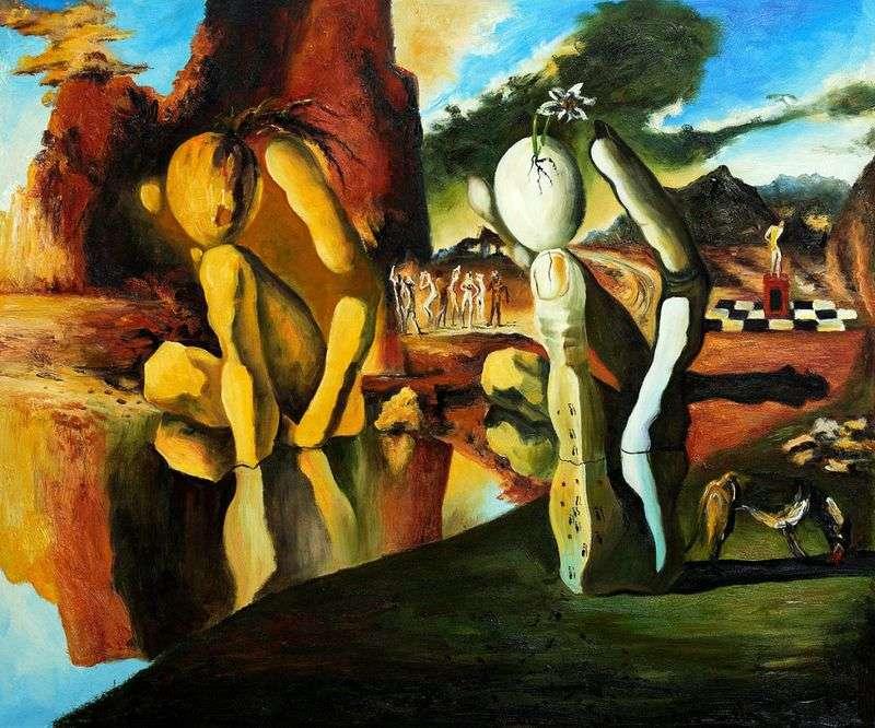 Metamorphosis of Narcissus   Salvador Dali
