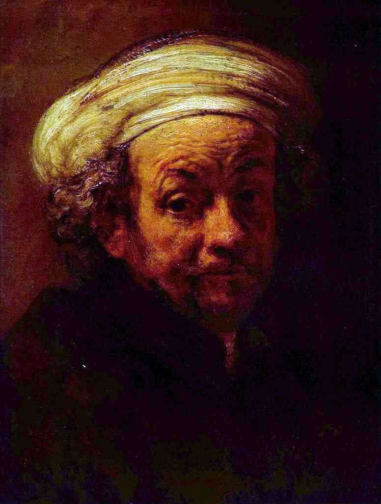 Autoportret   Rembrandt Harmens Van Rhine