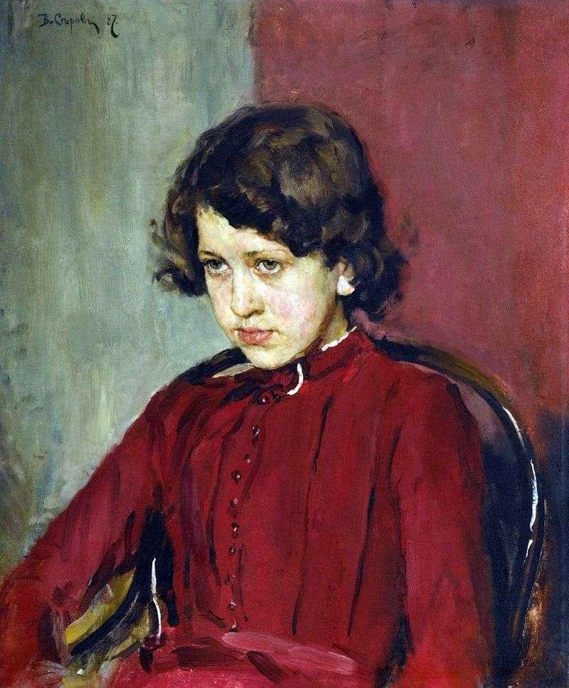 Portret Praskovya Mamontova   Valentin Serov