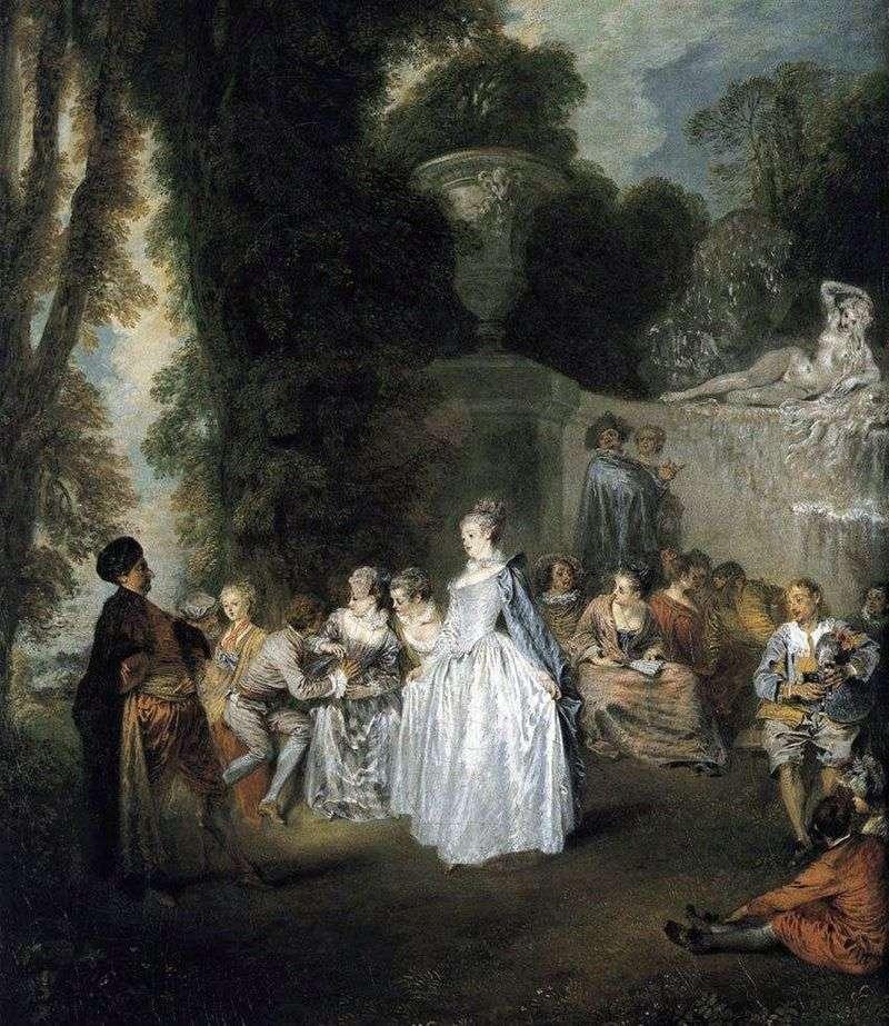 Wakacje w Wenecji   Jean Antoine Watteau