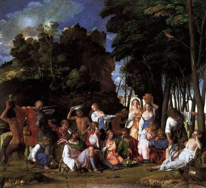 Święto bogów   Giovanni Bellini