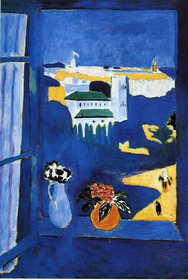 Okno w Tangerze   Henri Matisse