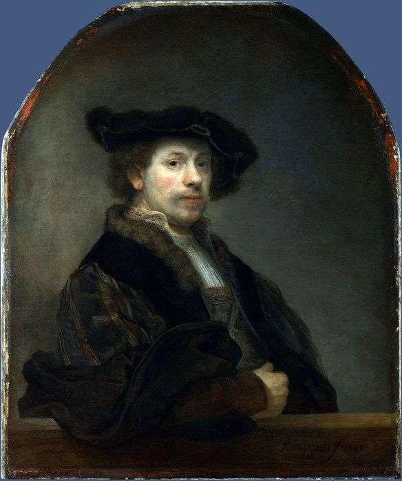 Autoportret w wieku 34 lat   Rembrandt Harmens Van Rhine