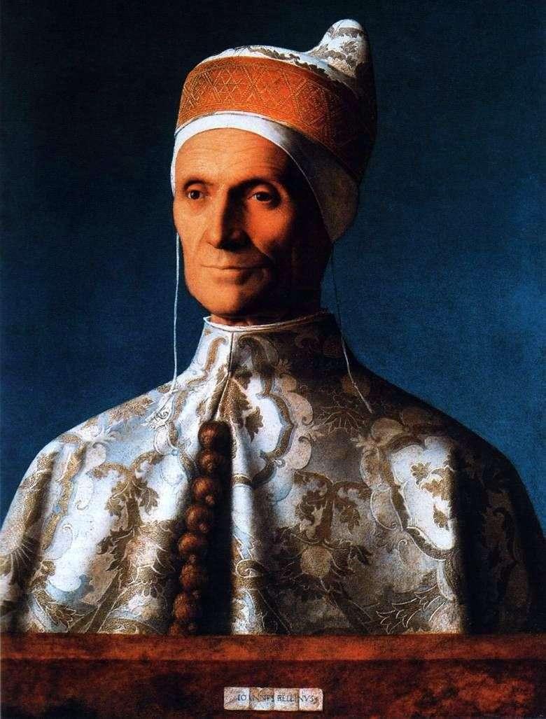 Portret Doge Leonardo Loredana   Giovanni Bellini