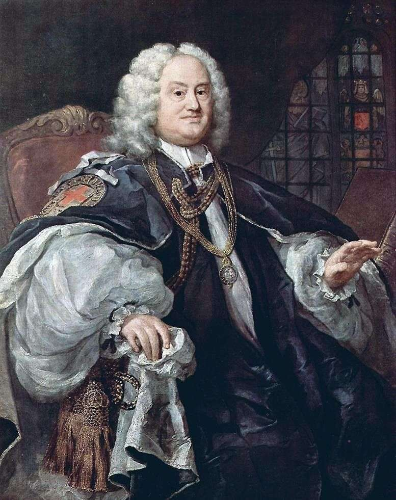 Portret biskupa Houdleya   William Hogarth