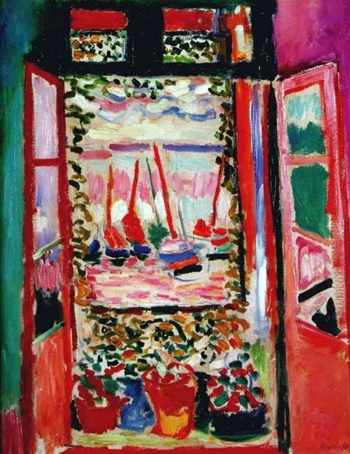 Otwórz okno   Henri Matisse