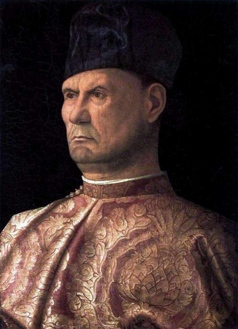 Portret Condottiere Giovanni Emo   Giovanni Bellini