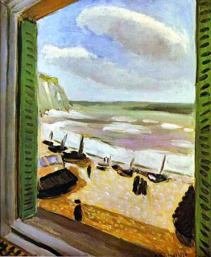 Otwórz okno w Collioure   Henri Matisse