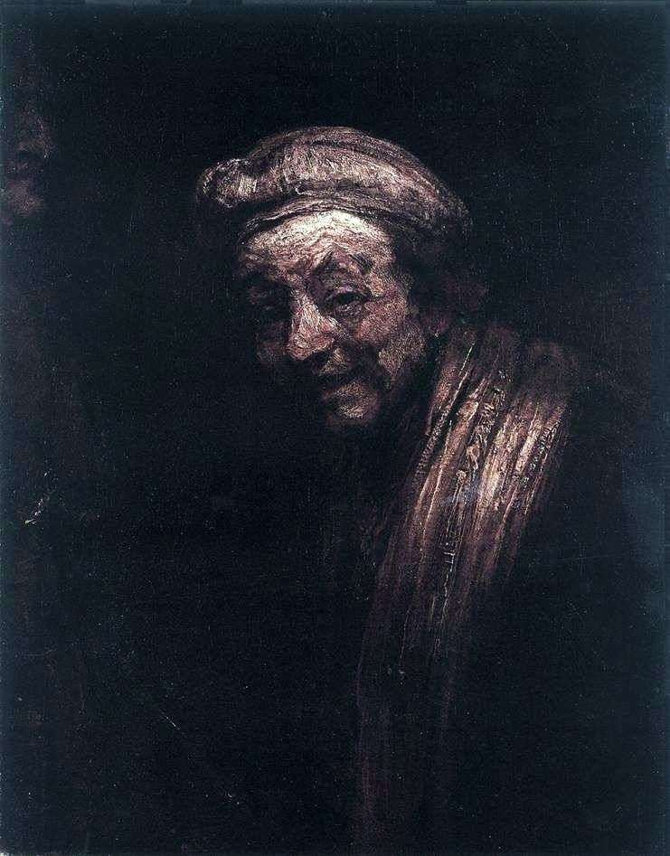 Autoportret w obrazie Zeuxisa   Rembrandt Harmens Van Rhine