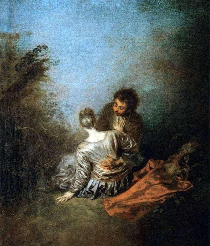 Fatal Mistake (Luck)   Jean Antoine Watteau
