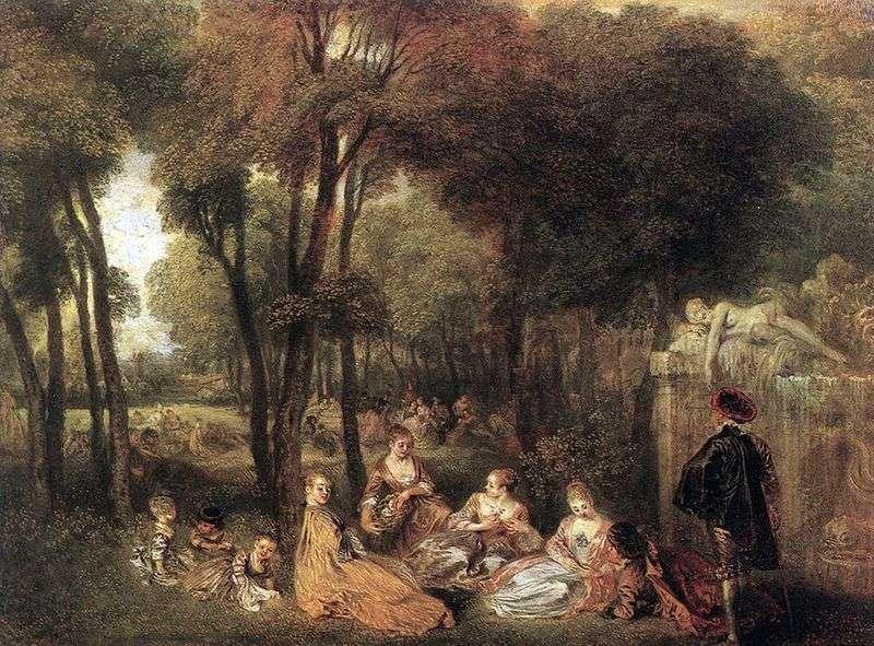 Yenisei Fields   Jean Antoine Watteau