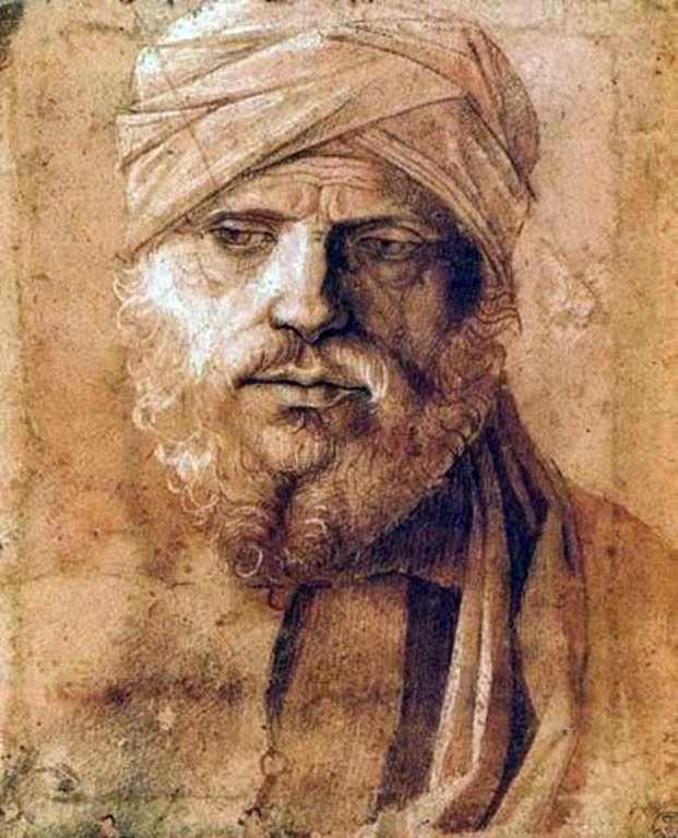 Portret mężczyzny w turbanie   Giovanni Bellini