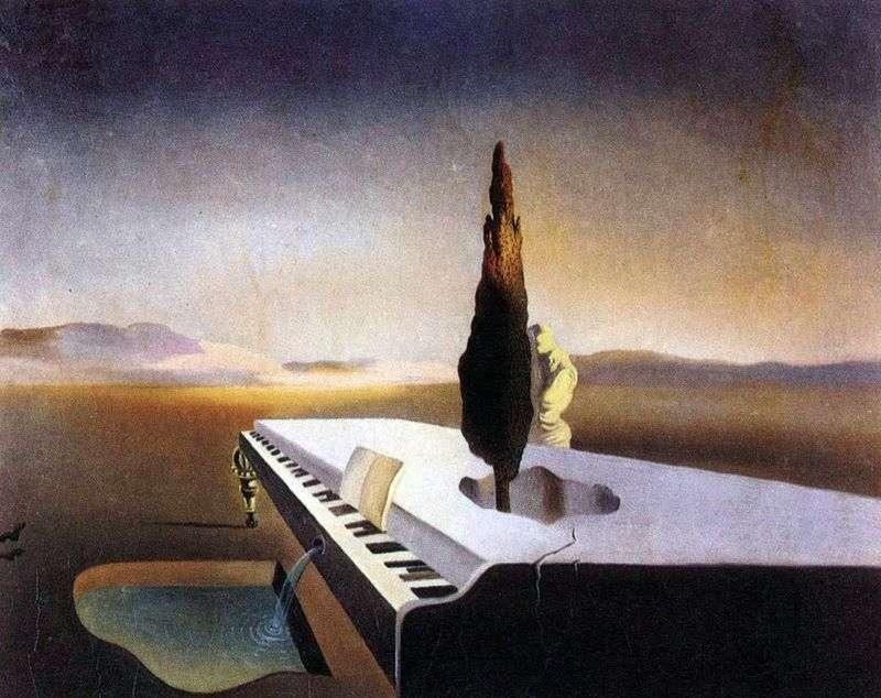 Źródło Necrofil, który strzelił z fortepianu na kod   Salvador Dali
