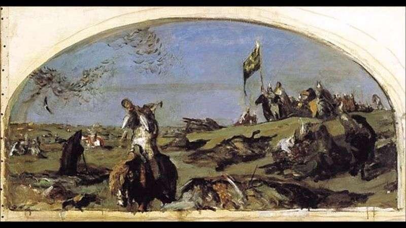 Po bitwie pod Kulikowem   Valentin Serow