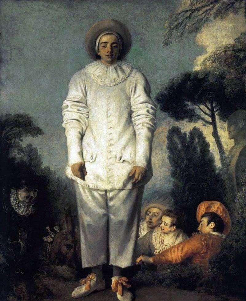 Gilles w kostiumie Pierrot   Jean Antoine Watteau