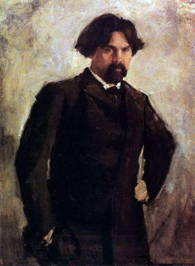 Porter V. I. Surikov   Valentin Serov