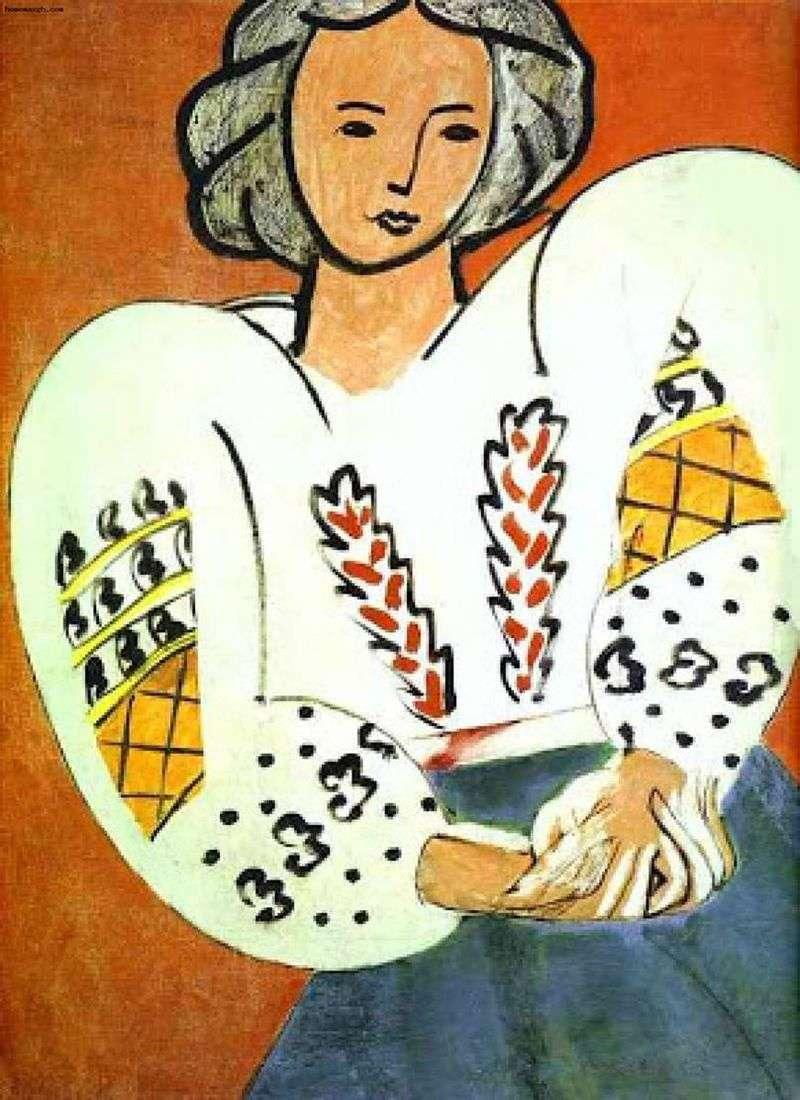 Rumuńska bluzka   Henri Matisse